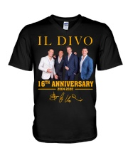 IL Divo Operatic Pop Band 16Th Anniversary Shirt V-Neck T-Shirt thumbnail