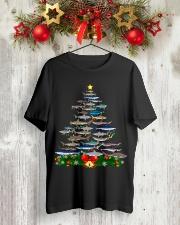 Shark Tree Christmas T-Shirt Classic T-Shirt lifestyle-holiday-crewneck-front-2