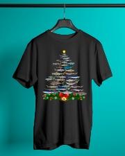 Shark Tree Christmas T-Shirt Classic T-Shirt lifestyle-mens-crewneck-front-3