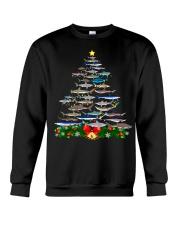 Shark Tree Christmas T-Shirt Crewneck Sweatshirt thumbnail