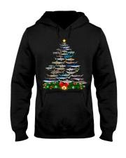 Shark Tree Christmas T-Shirt Hooded Sweatshirt thumbnail