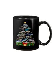 Shark Tree Christmas T-Shirt Mug thumbnail