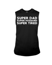 Super Dad Husband Super Tired Shirt Sleeveless Tee thumbnail