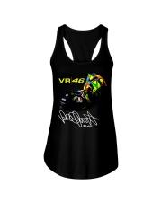 Vr 46 Valentino Rossi T-Shirt Ladies Flowy Tank tile