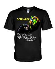 Vr 46 Valentino Rossi T-Shirt V-Neck T-Shirt thumbnail