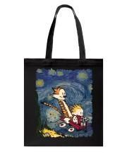 Calvin And Hobbes T-Shirt Tote Bag thumbnail