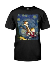 Calvin And Hobbes T-Shirt Classic T-Shirt front