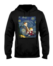 Calvin And Hobbes T-Shirt Hooded Sweatshirt thumbnail