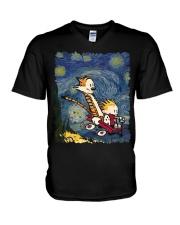 Calvin And Hobbes T-Shirt V-Neck T-Shirt thumbnail