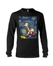 Calvin And Hobbes T-Shirt Long Sleeve Tee thumbnail