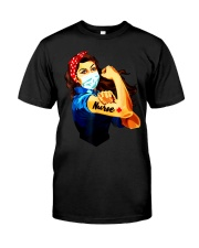 Strong nurse rosie riveter T-Shirt Classic T-Shirt tile