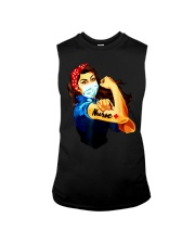Strong nurse rosie riveter T-Shirt Sleeveless Tee thumbnail