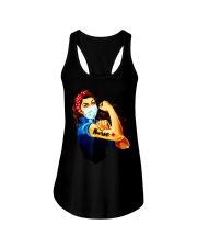 Strong nurse rosie riveter T-Shirt Ladies Flowy Tank tile