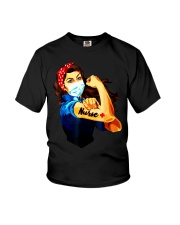 Strong nurse rosie riveter T-Shirt Youth T-Shirt thumbnail