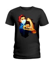 Strong nurse rosie riveter T-Shirt Ladies T-Shirt tile