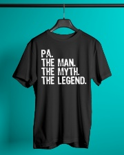 Pa The Man The Myth The Legend Dad Shirt Classic T-Shirt lifestyle-mens-crewneck-front-3