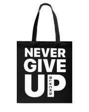 Moh-Salah-Never-Give-Up-Blackb-T-Shirt Tote Bag thumbnail