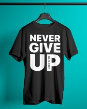Moh-Salah-Never-Give-Up-Blackb-T-Shirt Classic T-Shirt lifestyle-mens-crewneck-front-3