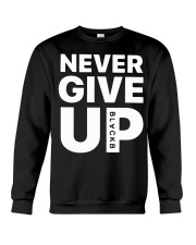 Moh-Salah-Never-Give-Up-Blackb-T-Shirt Crewneck Sweatshirt thumbnail