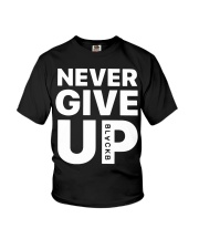Moh-Salah-Never-Give-Up-Blackb-T-Shirt Youth T-Shirt thumbnail
