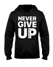 Moh-Salah-Never-Give-Up-Blackb-T-Shirt Hooded Sweatshirt thumbnail
