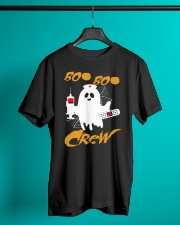 Boo Boo Crew Nurse Ghost  Halloween Shirt Classic T-Shirt lifestyle-mens-crewneck-front-3