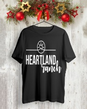 Heartland Ranch Pullover Hoodie For Special Tee Classic T-Shirt lifestyle-holiday-crewneck-front-2