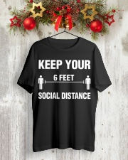 Keep Your Social Distance Cute Gift T-Shirt Classic T-Shirt lifestyle-holiday-crewneck-front-2