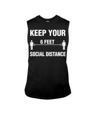 Keep Your Social Distance Cute Gift T-Shirt Sleeveless Tee thumbnail
