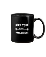 Keep Your Social Distance Cute Gift T-Shirt Mug thumbnail