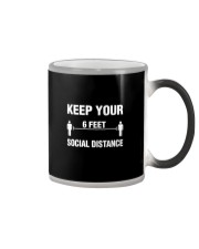 Keep Your Social Distance Cute Gift T-Shirt Color Changing Mug thumbnail