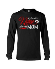My Favorite Nurse Calls Me Mom T-Shirt Nursing Long Sleeve Tee thumbnail