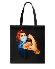 Strong Woman Tattoo CNA shirt Tote Bag thumbnail