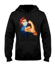 Strong Woman Tattoo CNA shirt Hooded Sweatshirt thumbnail