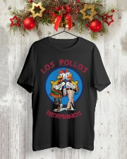 Breaking Bad T-Shirt Los Pollos Hermanos Classic T-Shirt lifestyle-holiday-crewneck-front-2