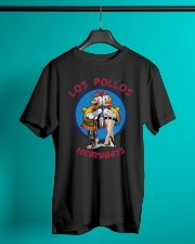 Breaking Bad T-Shirt Los Pollos Hermanos Classic T-Shirt lifestyle-mens-crewneck-front-3