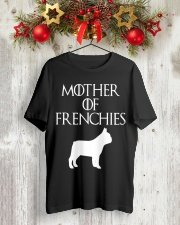 Mother Of Frenchies Dog Shirt For Gift Classic T-Shirt lifestyle-holiday-crewneck-front-2