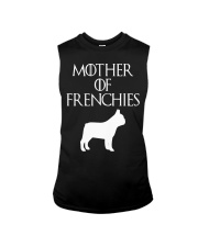 Mother Of Frenchies Dog Shirt For Gift Sleeveless Tee thumbnail