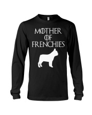 Mother Of Frenchies Dog Shirt For Gift Long Sleeve Tee thumbnail