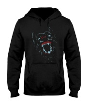 Colorfull Mad Dog Neon Cool T-shirt Hooded Sweatshirt thumbnail