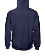 Colorfull Mad Dog Neon Cool T-shirt Hooded Sweatshirt back