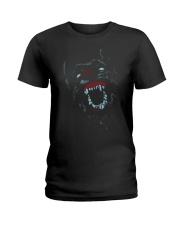 Colorfull Mad Dog Neon Cool T-shirt Ladies T-Shirt thumbnail