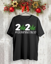 Cannabis Weed 2020 quarantined shirt Classic T-Shirt lifestyle-holiday-crewneck-front-2