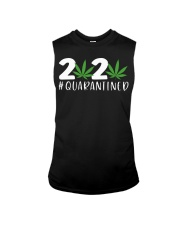 Cannabis Weed 2020 quarantined shirt Sleeveless Tee thumbnail