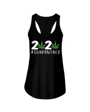 Cannabis Weed 2020 quarantined shirt Ladies Flowy Tank thumbnail