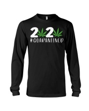Cannabis Weed 2020 quarantined shirt Long Sleeve Tee thumbnail
