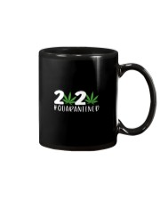 Cannabis Weed 2020 quarantined shirt Mug thumbnail