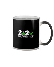 Cannabis Weed 2020 quarantined shirt Color Changing Mug thumbnail