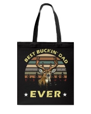 Best Buckin' Dad Ever Vintage T-shirt Tote Bag thumbnail