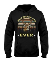 Best Buckin' Dad Ever Vintage T-shirt Hooded Sweatshirt thumbnail